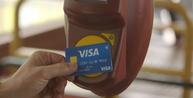 Cartão bancário nos transportes do Porto