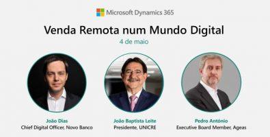 """João Baptista Leite, CEO da UNICRE, marcou presença no evento """"Venda Remota num Mundo Digital"""""""